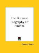 The Burmese Biography of Buddha