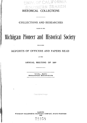 Michigan Historical Collections: Volume 14