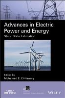 Advances in Electric Power and Energy PDF