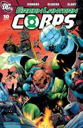 Green Lantern Corps (2006-) #10