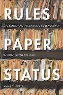 Rules, Paper, Status