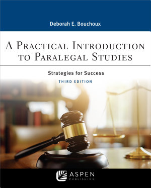A Practical Introduction to Paralegal Studies PDF