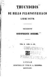 Thucydidis De bello Peloponnesiaco libri octo: Volume 1