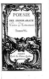 Poesie [ed. by R. de' Calsabigi].
