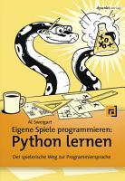 Eigene Spiele programmieren     Python lernen PDF