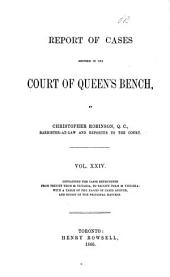 Queen's Bench and Practice Court Reports ...