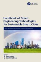 Handbook of Green Engineering Technologies for Sustainable Smart Cities PDF