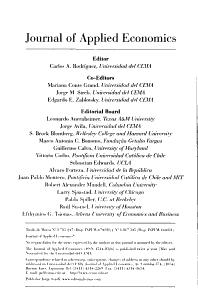 Journal of Applied Economics PDF