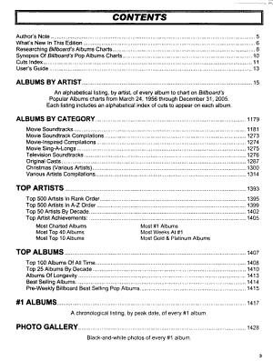 The Billboard Albums PDF