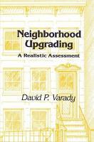 Neighborhood Upgrading PDF