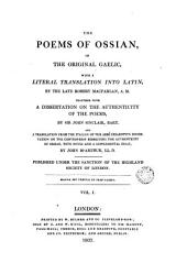 The Poems of Ossian..., 1