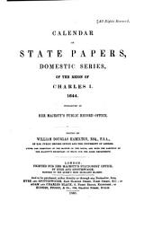 Calendar of State Papers, Domestic Series, of the Reign of Charles I: Volume 19