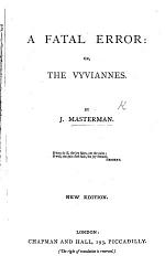 A Fatal Error: or, the Vyviannes