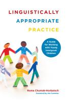 Linguistically Appropriate Practice PDF