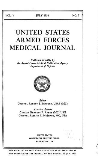 U S  Armed Forces Medical Journal PDF