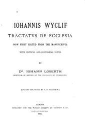Iohannis Wyclif Tractatus de ecclesia: Volume 4