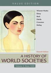 A History Of World Societies Value Edition Volume 2 Book PDF