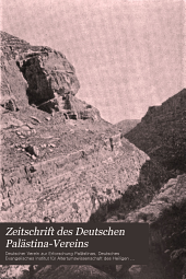 Zeitschrift des Deutschen Palästina-Vereins: Bände 26-30