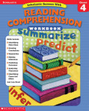 Scholastic Sucess With Reading Comprehension   Grade 4 Book