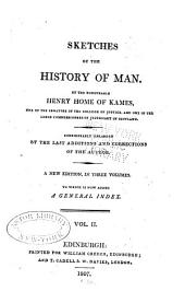 Sketches of the History of Man: Volume 2