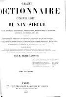 Grand Dictionnaire Universel  du XIXe Siecle  Francais  A Z 1805 76 PDF