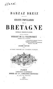 Chants populaires de la Bretagne