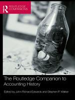 The Routledge Companion to Accounting History PDF