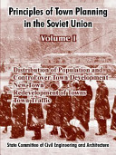 Principles of Town Planning in the Soviet Union PDF