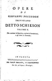 Opere: Che contiene le Quartine, e prima le Introduzioni, e gli Anni in Generale, Volume 2