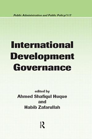 International Development Governance PDF
