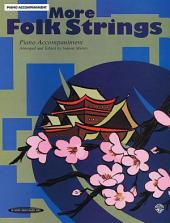 More Folk Strings: Piano Accompaniment