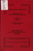 Program of the     Annual Meeting PDF