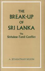 The Break up of Sri Lanka PDF