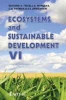Ecosystems and Sustainable Development VI PDF