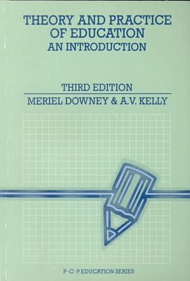 Theory and Practice of Education PDF