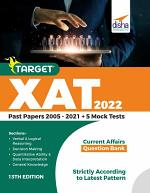 Target XAT 2022 (Past Papers 2005 - 2021 + 5 Mock Tests) 13th Edition