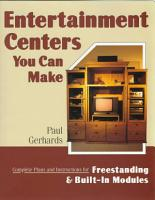 Entertainment Centers You Can Make PDF