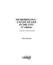 Metrobiology   a Study of Life in the City PDF