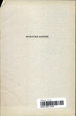 Mahatma Gandhi PDF