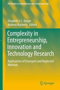 Complexity in Entrepreneurship  Innovation and Technology Research PDF