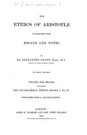 The ethics of Aristotles illustrated with essays and notes by Alex. Grant: In 3 Volumes, Volume 2