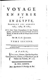 Travels Through Syria and Egypt, in the Years 1783, 1784, and 1785 ...