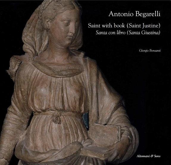 Antonio Begarelli. Saint with book (Saint Justine).