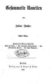 Gesammelte Novellen: in drei Bänden, Band 1