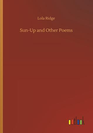 Sun Up and Other Poems PDF