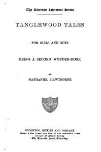 Tanglewood Tales for Girls   Boys Book