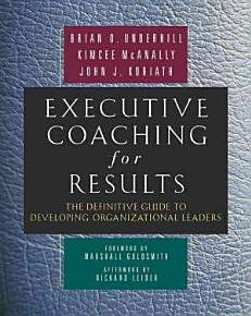 Executive Coaching for Results PDF
