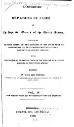 Condensed Reports of Cases in the Supreme Court of the United States