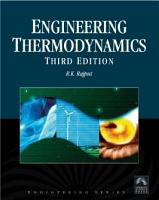 Engineering Thermodynamics  A Computer Approach  SI Units Version  PDF