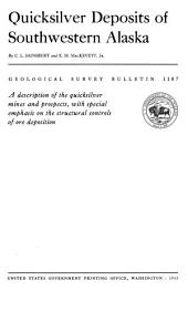 Geological Survey Bulletin: Issues 1187-1188